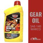 WARCO Advanced Gear Oil GL-5 (SAE-140) – 1 Liter