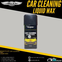 CAR CLEANING LIQUID WAX BOTNY