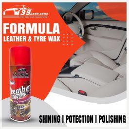Dashboard Polish ROSE 450ML FORMULA LEATHER & TYRE WAX