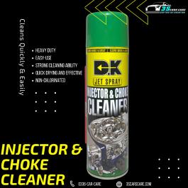 INJECTOR, CARBURETOR & CHOCK CLEANER 550ML DK