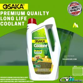 Long Life Coolant 2 Litter pack High Grade (green) OSAKA