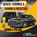 Dashboard Polish LEMON 450ML FORMULA LEATHER & TYRE WAX