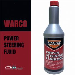 Warco Power Steering Fluid for all Vehicles 354m