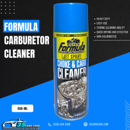 CARBURETOR + CHOKE & PARTS CLEANER 450ML FORMULA