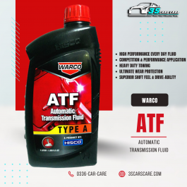 Warco ATF Automatic Transmission Fluid Oil Type A -1 litter