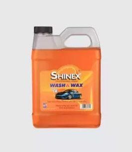 SHINEX Wash & Wax – Car Shampoo Foaming – 1 Gallon – Orange