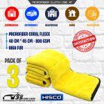 Microfiber Coral Fleece – Pack of 3 – High Fur